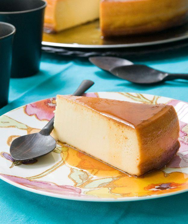 Φλαν με κρέμα τυριού