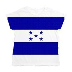Bandera de honduras Women's All Over Print T-Shirt  #Honduras #Bandera