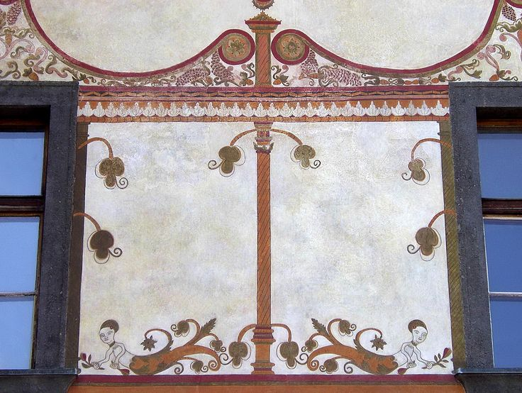 https://flic.kr/p/6FGh8u | Besztercebánya/Banská Bystrica/Neusohl | Slovakia, Highland; former historical Hungary /Felvidék. Beniczky House. Beniczky-ház. 1660. Renessaince fresco detail. en.wikipedia.org/wiki/Felvid%c3%a9k I like these ungrateful little mermaids, they are so naive! Naturally I like the ornamentations too. A finely decorated late renessaince building. It's owner was a Hungarian nobleman, Thomas Beniczky de Miczina. It started as a permanent settlement in the 9th century and…