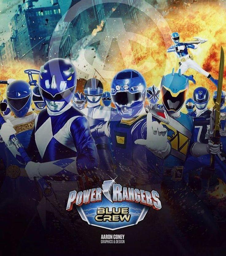 Blue Crew, Power Rangers
