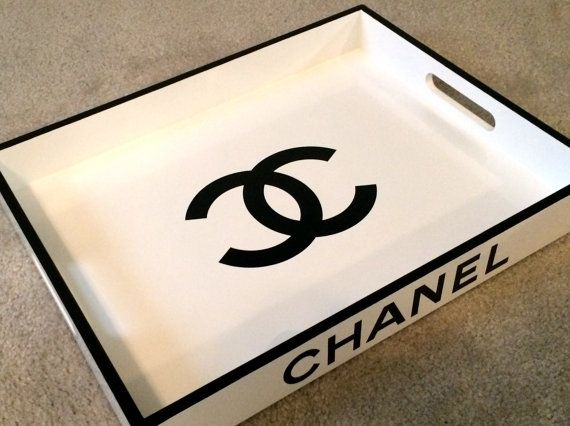 chanel coffee table tray 1