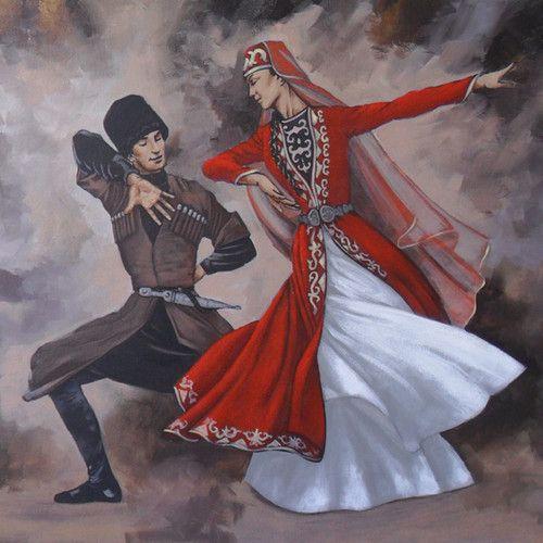 Chechen dances lezginka - 1 6