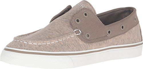 0ed9a240482f1 Sperry Top-Sider Women's Biscayne Laceless Taupe Sneaker 7.5 M (B ...