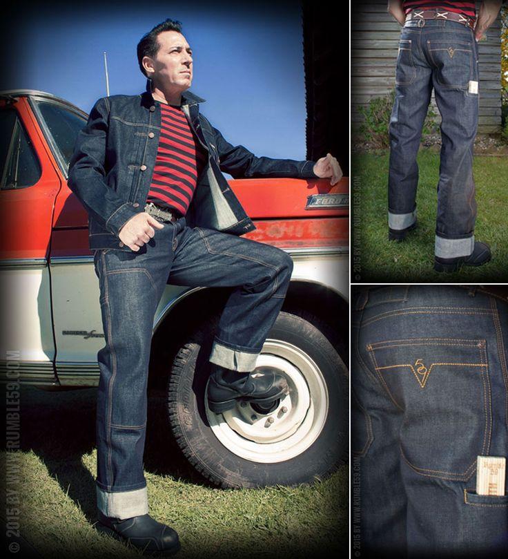 Rumble59 Worker Jeans - Woodworker #rumble59 #denim #workwear