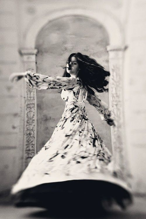 """Dance, when you're broken open. Dance, if you've torn the bandage off. Dance in the middle of the fighting. Dance in your blood. Dance when you're perfectly free"" I Rumi"