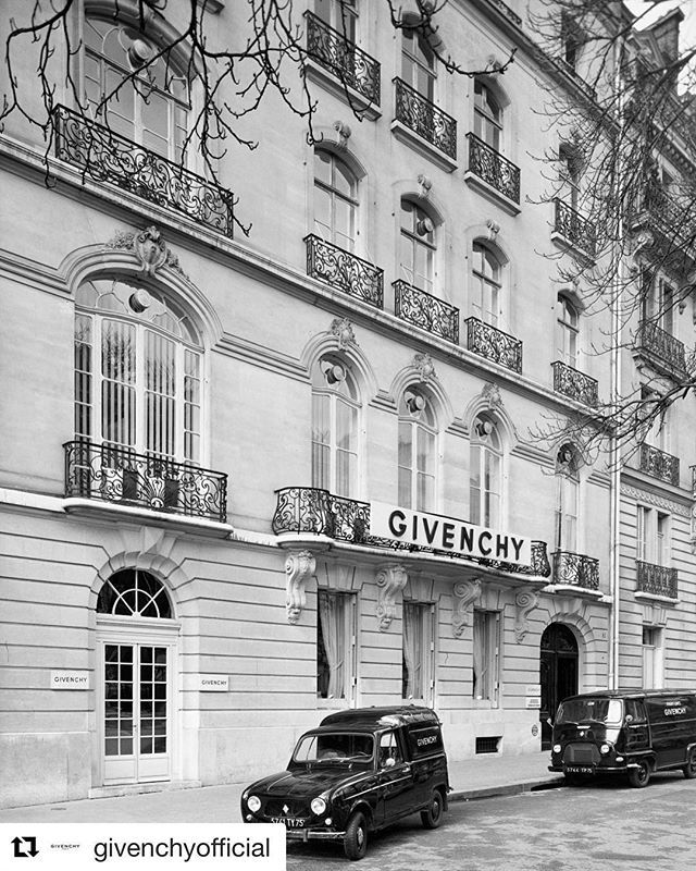 Hubert de Givenchy the founder of the House of Givenchy was a major personality who symbolized chic and elegance . He will be greatly missed. #givenchy #rip #repost
