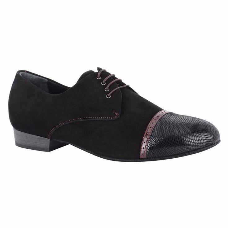 BANDOLERA 8003 NOIR DAIM<br>Chaussure de tango