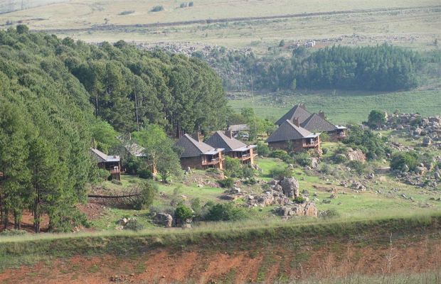 Crystal Springs Mountain Lodge, 1 800m up in Mpumalanga's majestic mountains, is…