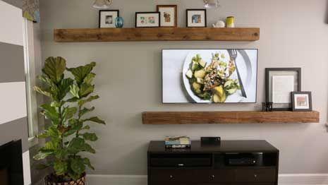 Get a Stylish TV Wall
