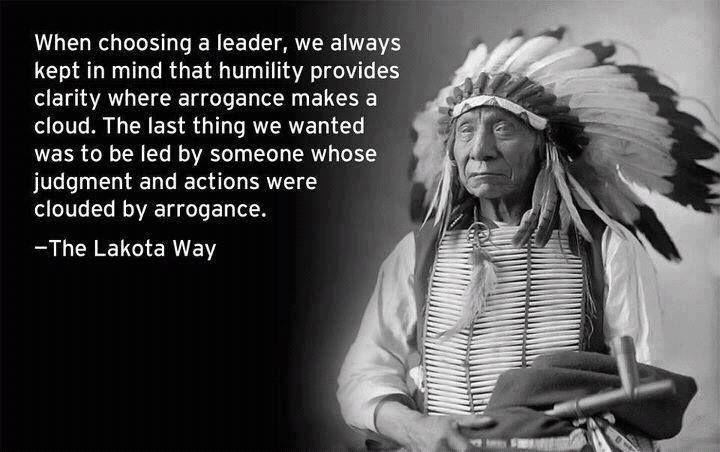Arrogance v. Humility ... philosophies of leadership