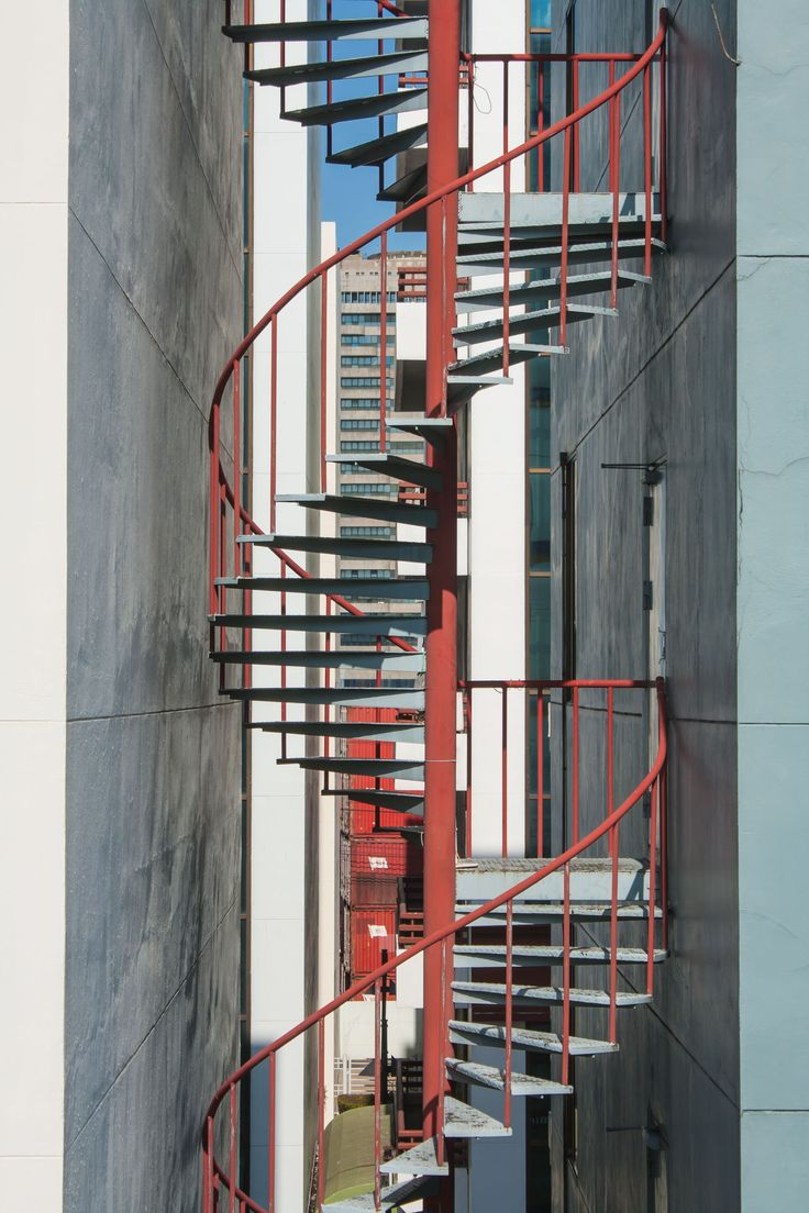 Best Spiral Staircase Architecture Building Exterior Built 400 x 300