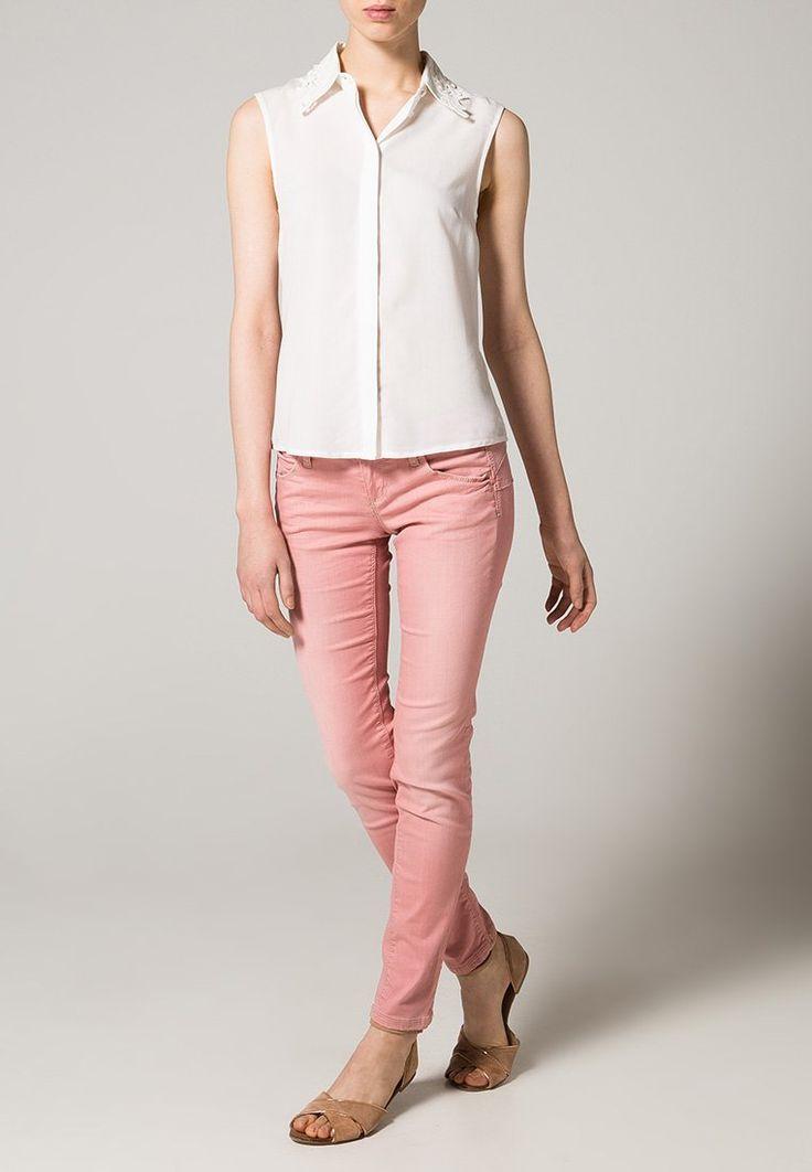 Benetton - Slim fit jeans - light coral