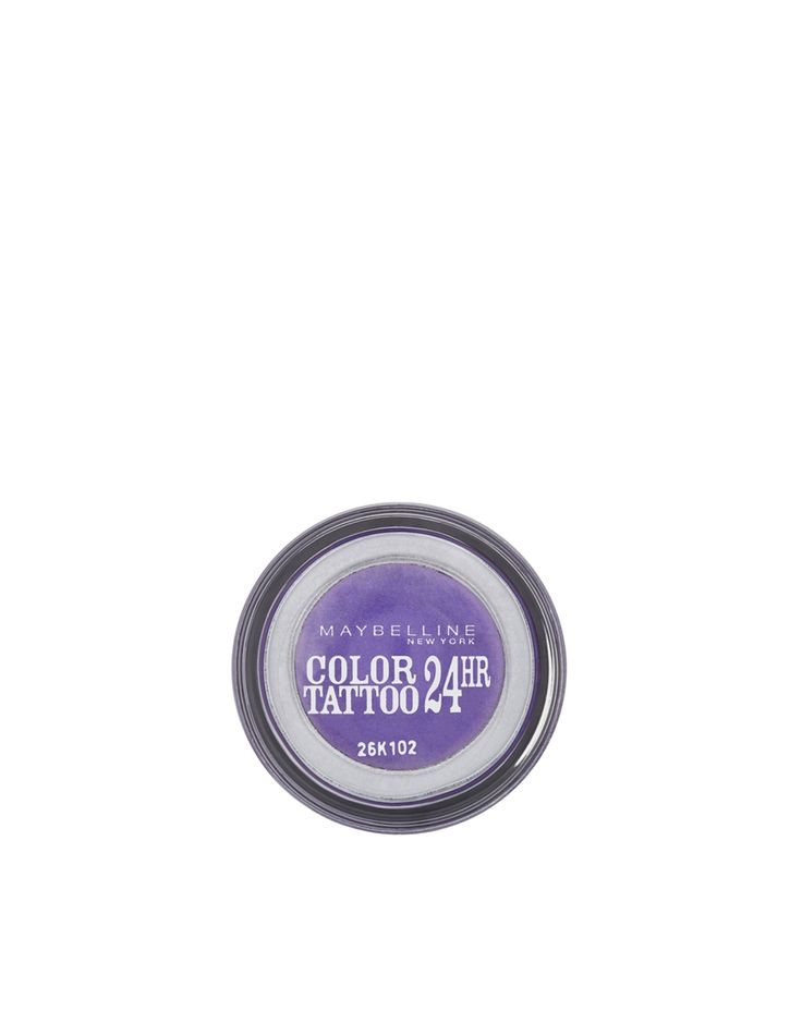 Color Tattoo 24hour Eyeshadow by Maybelline Intense vibrant long last colour Crease resistant cream formula Can last up to 24 hours Available in 8 shades