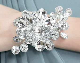 Wrist Corsage Winter Snowflake Winter by BridalBouquetsbyKy