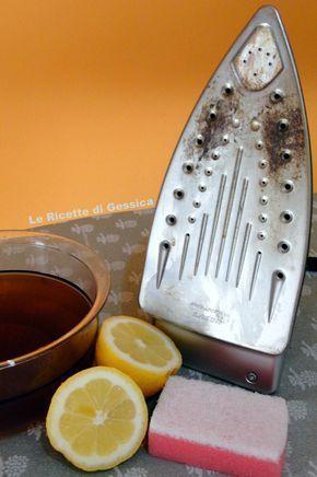 pulire ferro da stiro casa