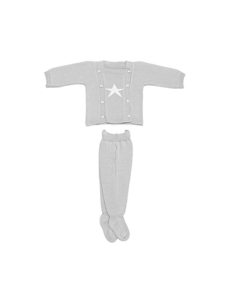 Twinkle-Twinkle Newbie Star Set in Grey