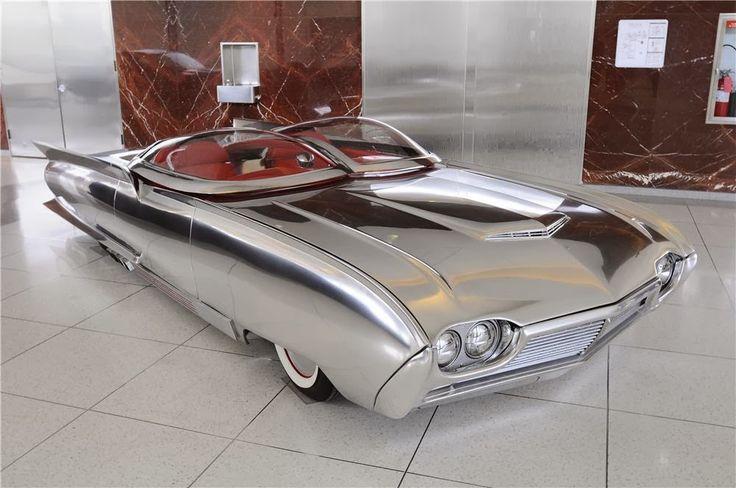 design-dautore.com: 1961 Ford Thunderflite Concept.
