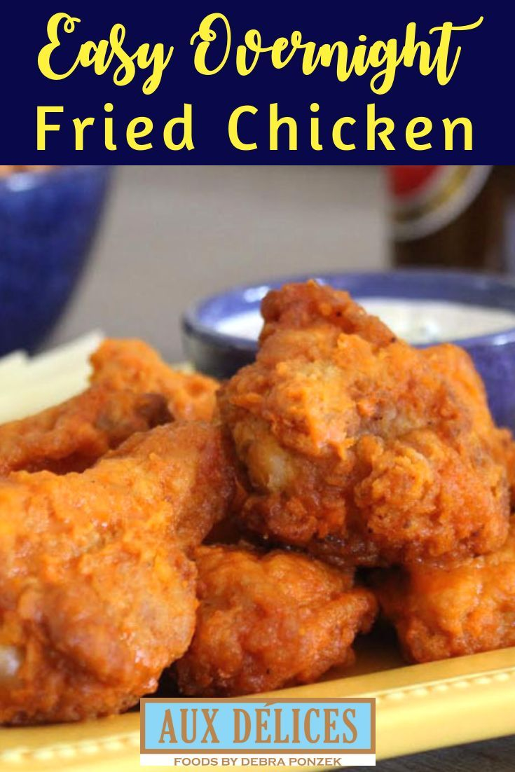 Want To Cook Up Perfect Fried Chicken Follow This Recipe That Marinates Chicken Overnight In But Picnic Chicken Recipe Cold Picnic Foods Fried Chicken Recipes