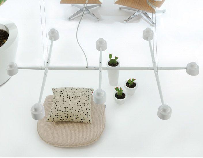 spider carlo contin design italy 2010 pendant lamp modudar system