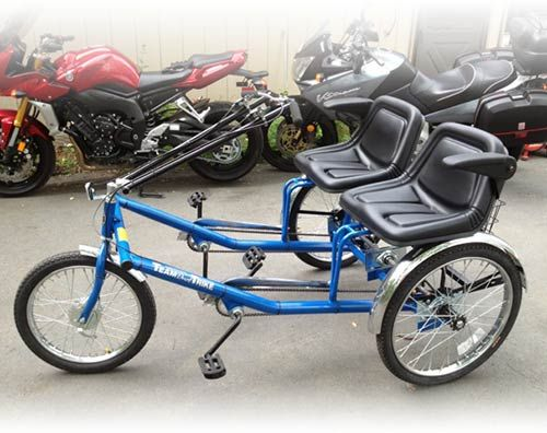 Two Person Bucket Seat Trike Tricycle Bicycle Bucket Seats