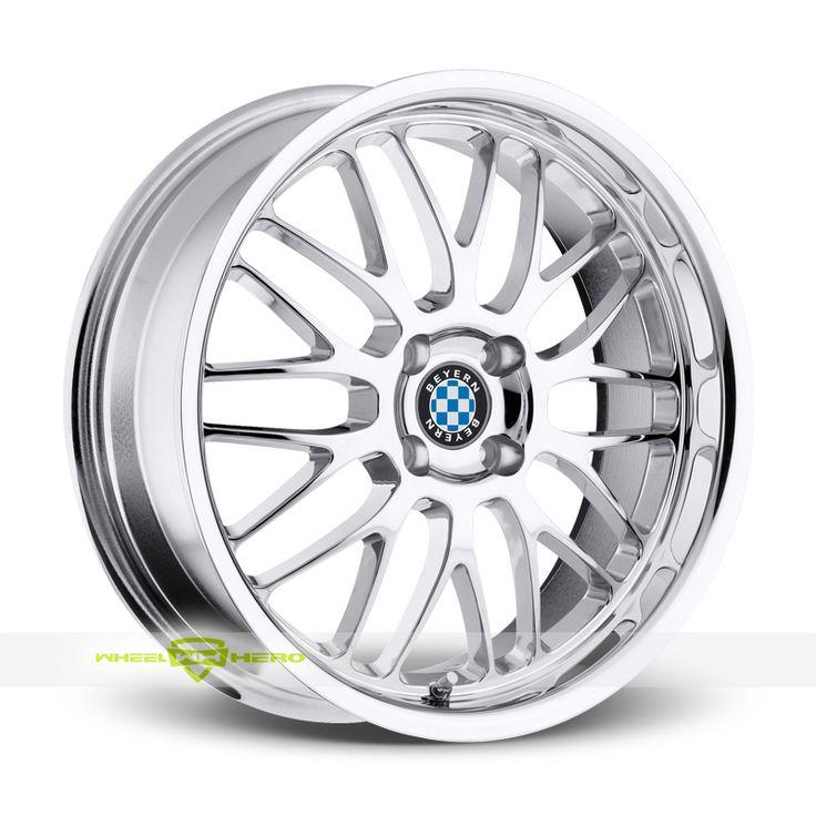 Beyern BMW Mesh 4 Chrome Wheels For Sale - For more info: http://www.wheelhero.com/customwheels/Beyern-BMW/Mesh-4-Chrome