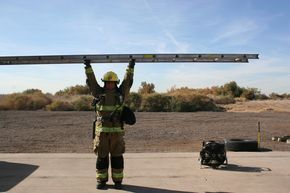 """To be effective, firefighter training must incorporate the actual skills, movements and activities that firefighters will perform on the fireground. Monte Egherman discusses this practice, called """"specificity of training,"""" and provides a sample functional fitness course departments can use when implementing the concept into their fitness routine."""