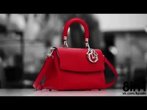 Как вручную делают сумки от Dior? - YouTube