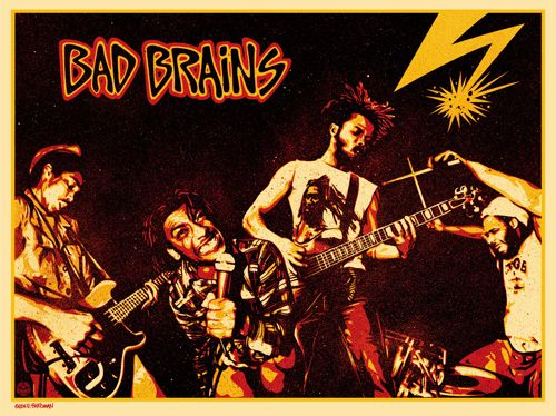 Bad Brains   Bad Brains is an American hardcore punk band formed in Washington DC in 1977. They are widely regarded as among the pioneers of hardcore punk.