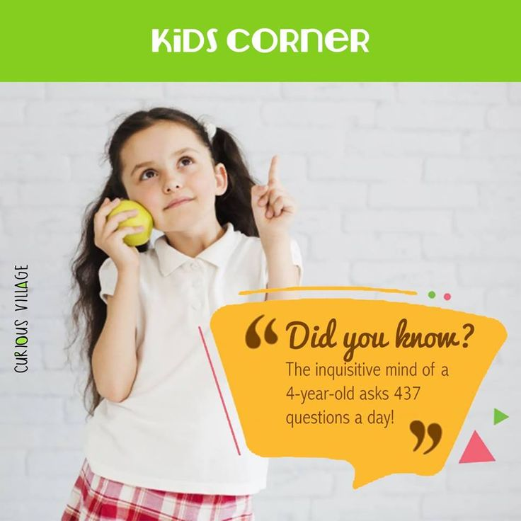 How do you survive the inquisitive mind of your little one, by nurturing the curiosity or by rolling your eyes?  #KidsCorner #Didyouknow