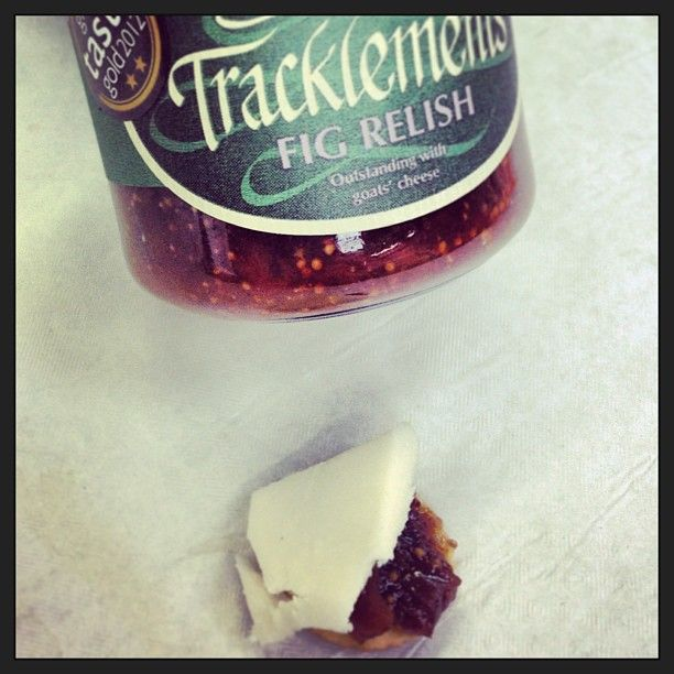 Tracklements relishes make a perfect accompaniment with our cheddar