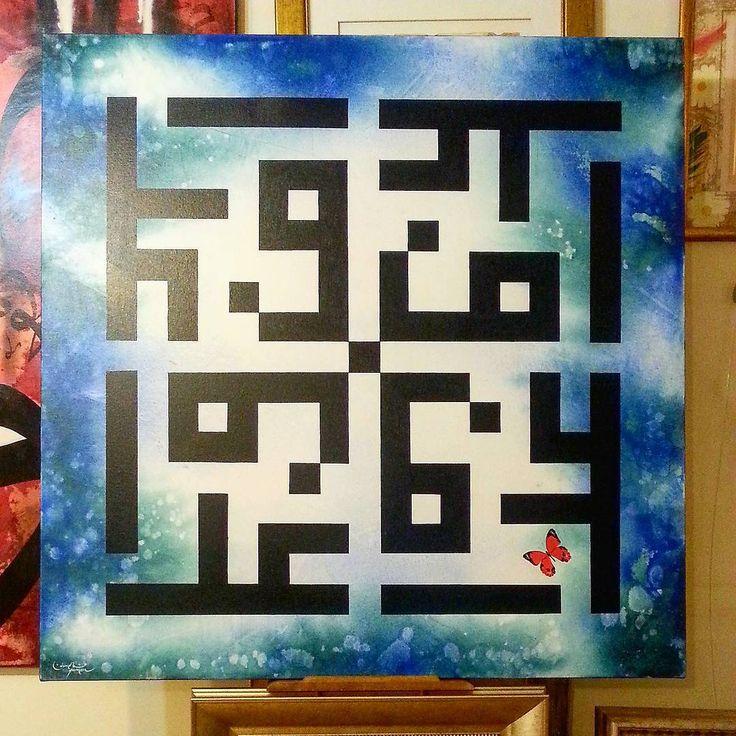 """Irony in the labyrinth..."" #osmanyilmazermodern #artist #art�� #painter #contemporary #contemporaryart #abstract #exhibition #artcollector #artcollection #modernizm #modernart #moderncalligraphyph #blueart #kufi #dubaiart #cosmos #araf #labyrinth #irony #ressam #sanat #resimsergisi #atolye #mavi #soyutresim #modernsanat #istanbul #koleksiyoner #labirent http://turkrazzi.com/ipost/1523409496217622221/?code=BUkPN2NghbN"