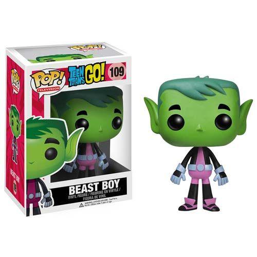 Teen Titans Go! Beast Boy Pop! Vinyl Figure - Funko - Teen Titans - Pop! Vinyl Figures at Entertainment Earth
