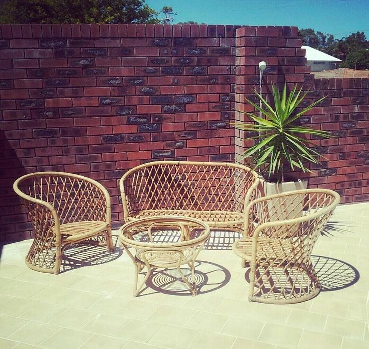 Restoring Cane Furniture How To Vintage Retro Cane Setting Pre Restore DIY  Http:/