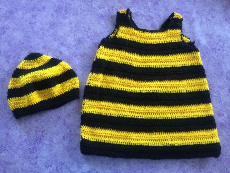 Bienenkostüm gehäkelt (crochet)