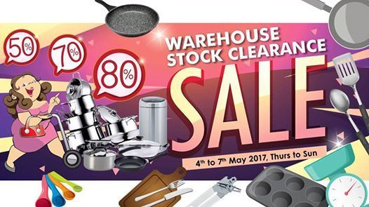 Katrin BJ Malaysia is having their Warehouse Stock Clearance SALE at Subang Jaya. Enjoy Every things at crazy sales up to 80% and many more.