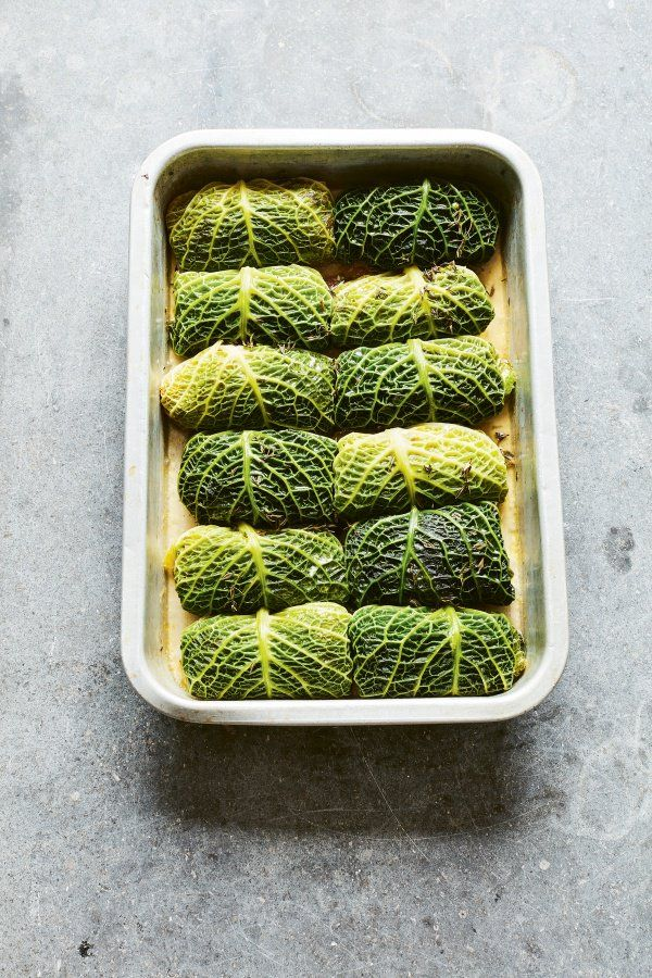 Stuffed Savoy Cabbage Leaves Guest Recipes Nigella S Recipes Recipe Savoy Cabbage Cabbage Leaves Cabbage