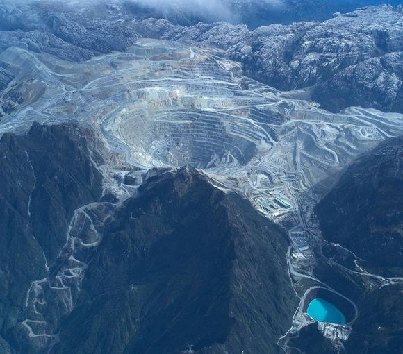12 Amazing Earth Scars - the No.9. Grasberg Mine, Indonesia