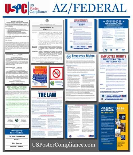 Arizona State and Federal Compliance / Labor Law Poster