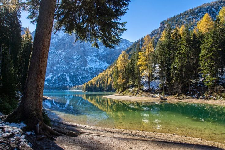Urlaub in Südtirol, Pustertal, Reisefotos Südtirol, Pragser Wildsee, Sand in Taufers, Reinbachfälle