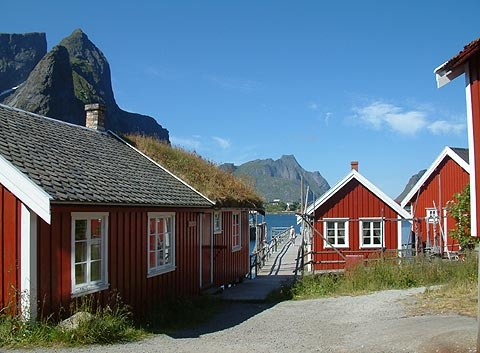 Welcome to Reine Rorbuer, Reine i Lofoten, Norway
