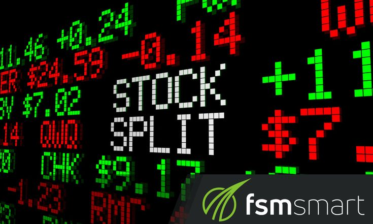 """The term """"stock split"""" must have reached your ears at one time especially if you're investing in a publicly traded company.  #FSMSmart #FSMSmartReviews #StockSplit #Investment #Stocks"""