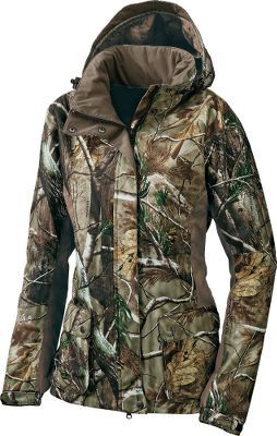 I would TOTALLY wear this on that ONE day of the year it's cold in Tucson... $129.99 - $144.99 Cabela's Women's OutfitHER™ Rainwear Jacket