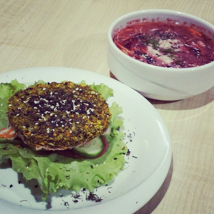 Raw vegan food in Perm, Russia