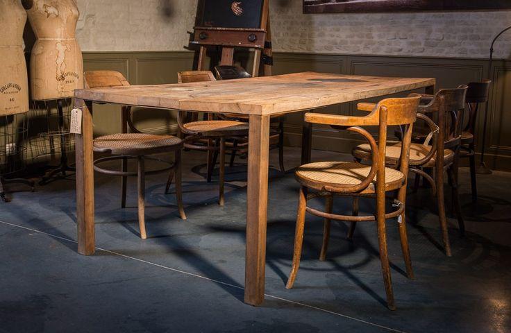 rustieke-houten-tafel