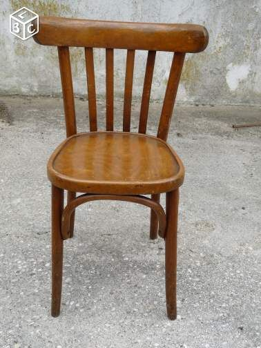 Chaises bistrot bar ancienne marque luterma d coration for Chaise d implantation