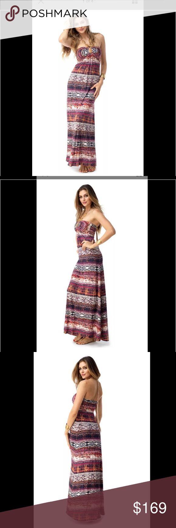 Sky brand maxi dress sale