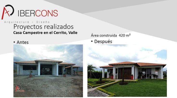 Realiza el sueño de construir tu casa campestre con Ibercons Arquitectura + Diseño, manejamos diversos presupuestos. Visítanos en: www.ibercons.com.co