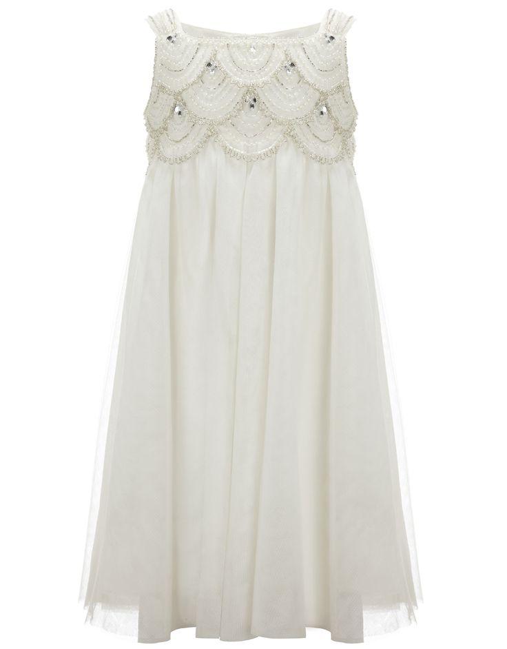 Fontayne Dress | White | Monsoon. For flowergirls?