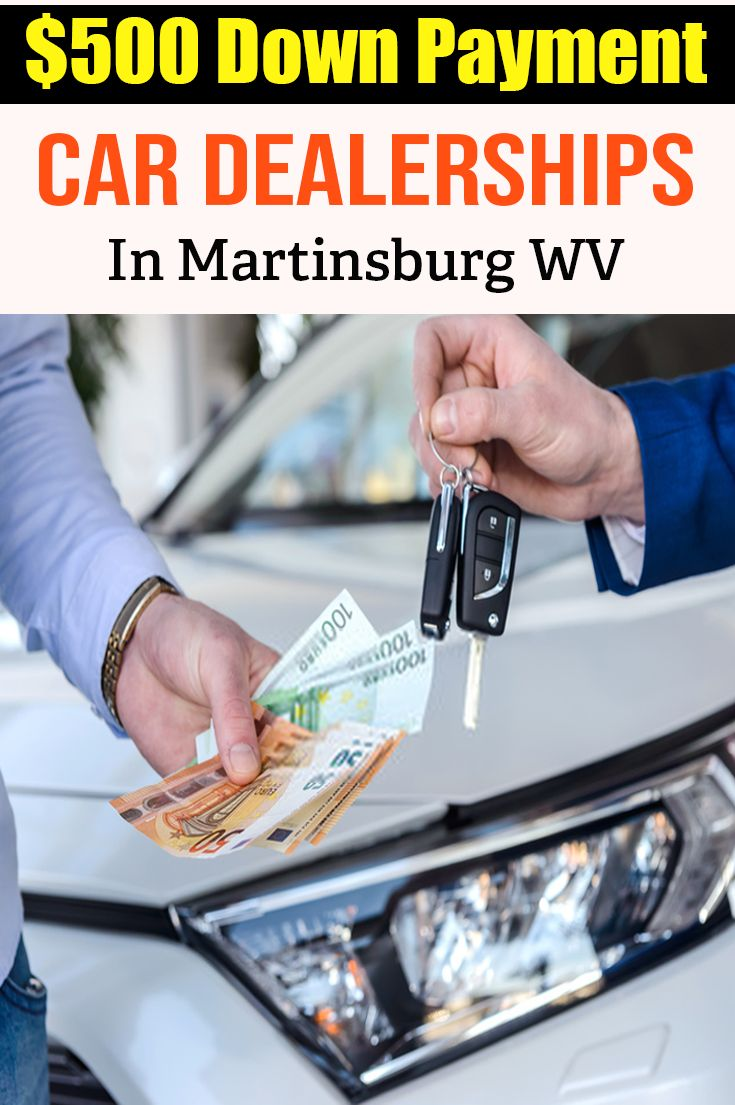 wv payment down dealerships