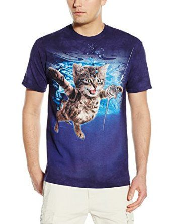 The Mountain Men's Never Mice T-Shirt, Blue/Purple, Small